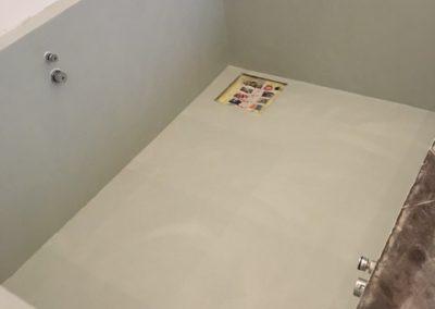 vasca bagno resina