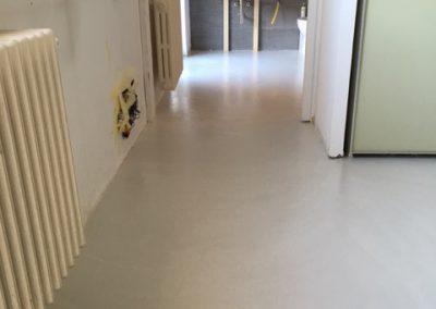pavimento in resina casa