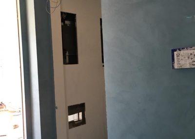 parete bagno resina