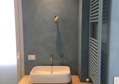 parete lavandino resina