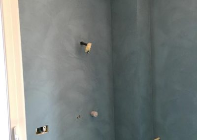 pareti doccia in resina epossidica