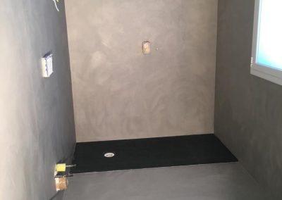 pareti piatto doccia resina
