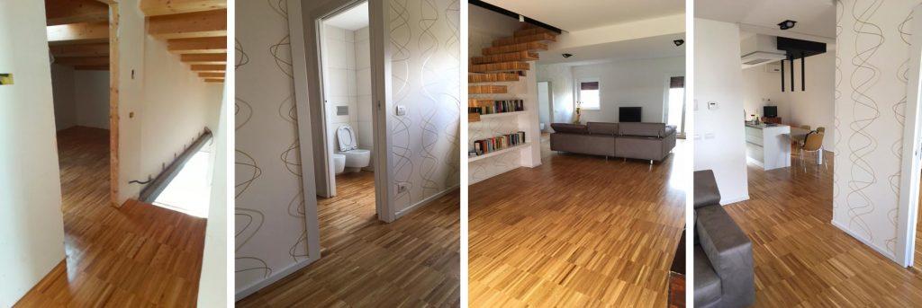 parquet e scale legno