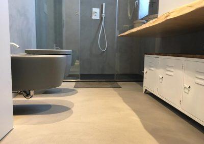 pavimento bagno resina