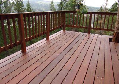 pavimento terrazzo in legno