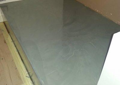 parte pavimento in resina