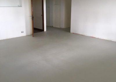 pavimento in resina bagno