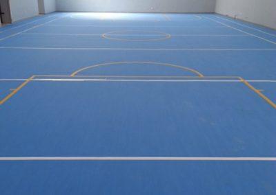 pavimento indoor gomma