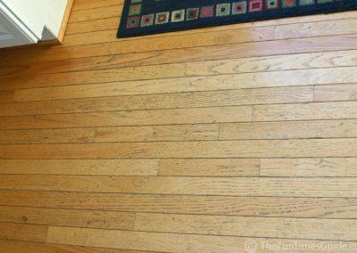pavimento legno dettaglio