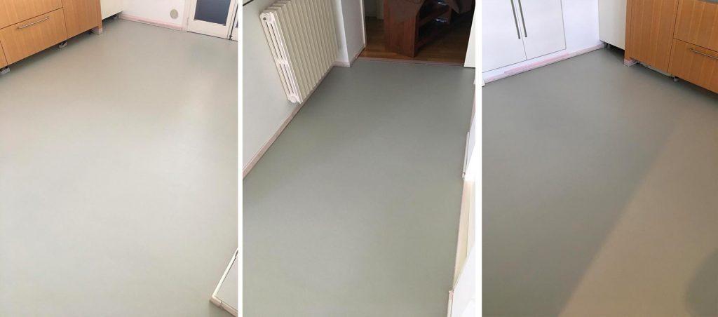 pavimento resina epossidica spatolato monocromatico