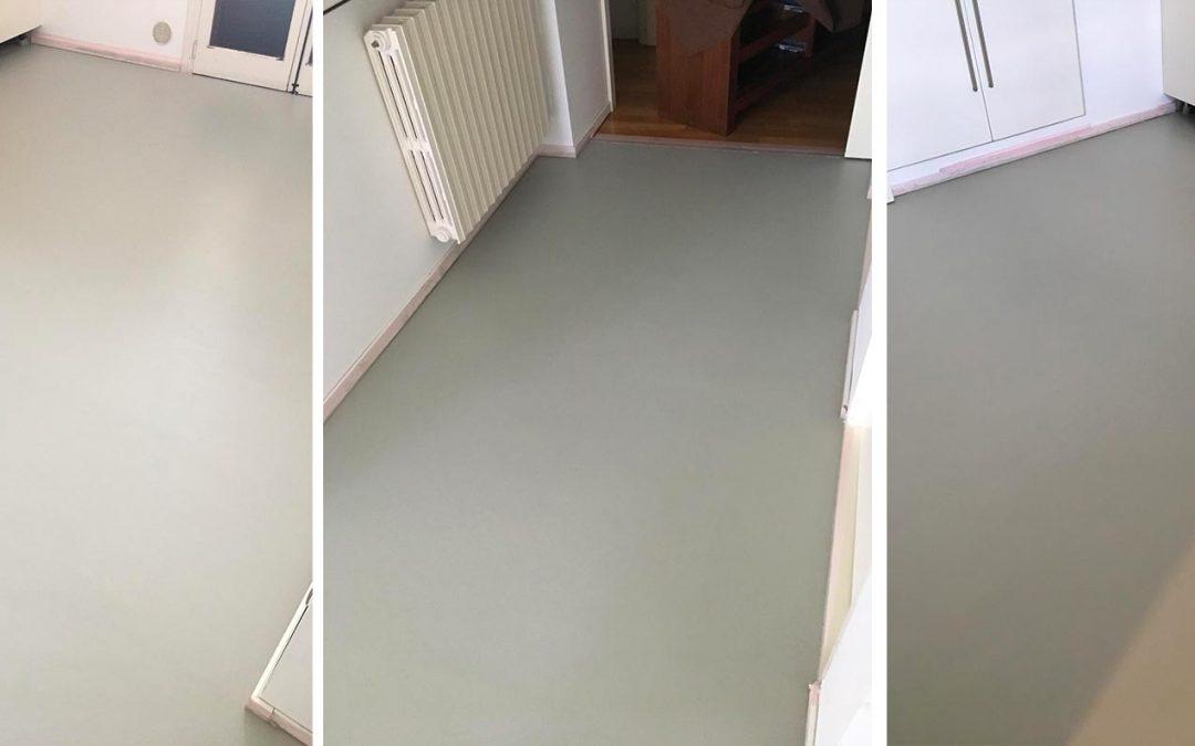 Pavimento in resina epossidica – spatolato monocromatico