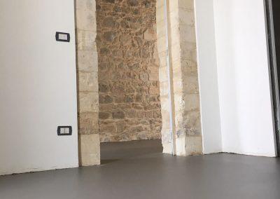 pavimento resina porta