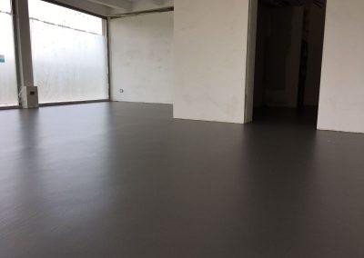 pavimento resina sala