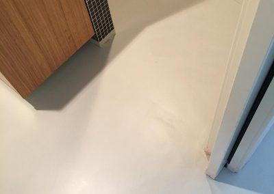 pavimento resina spatolato angoli