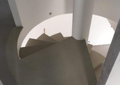scalinata resina