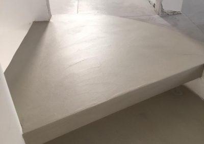 scalini resina decorativa